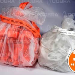 Nastri tessuti in sacchi 32mm