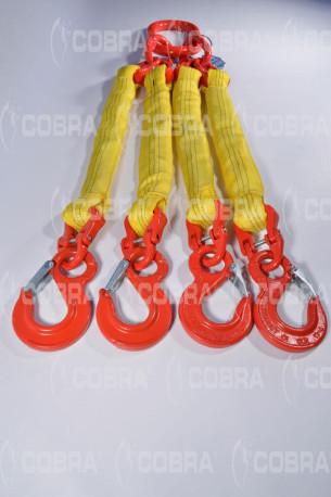 vendita online Braca / Tirante tonda 4 tratti - ganci con sicurezza