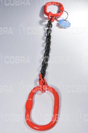 vendita online Braca / Tirante in catena G80 1 tratto - con anello