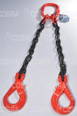 vendita online Braca / Tirante in catena G80 2 tratti - gancio self-locking