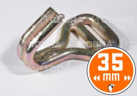 vendita online Ganci 35 mm in acciaio per lashing