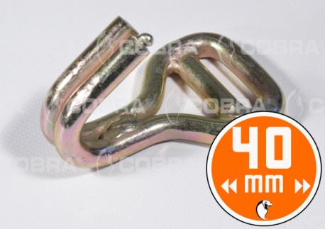vendita online Ganci 40 mm in acciaio per lashing