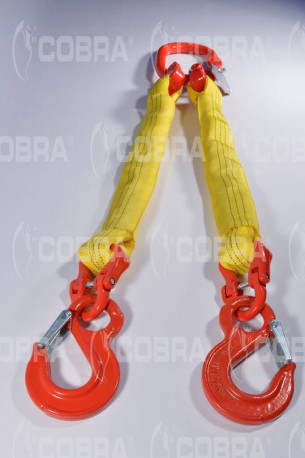 vendita online Braca / Tirante tonda 2 tratti - ganci con sicurezza