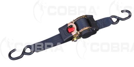 vendita online Ancoraggio auto-avvolgibile 50mm con ganci