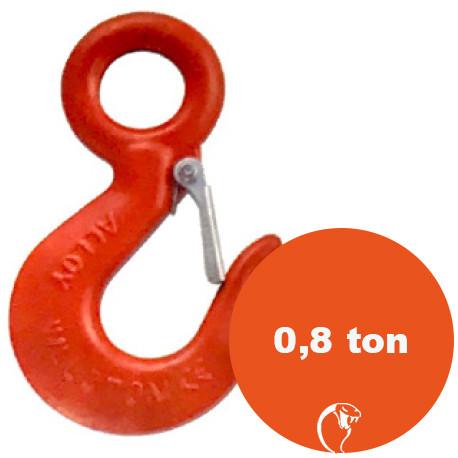 vendita online Gancio ad occhio in acciaio al carbonio 0,8 ton