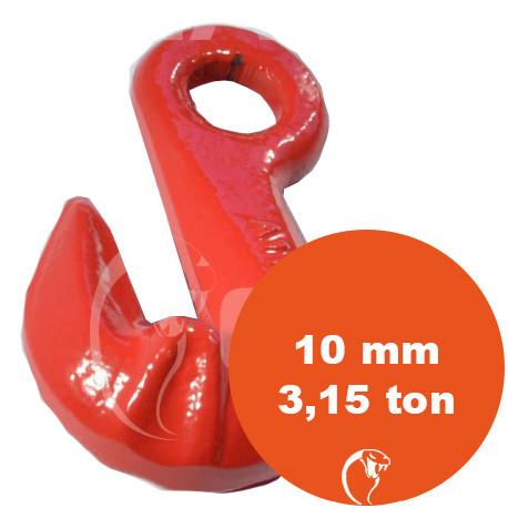 vendita online Gancio accorciatore ad occhio G80 10 mm 3,15 ton