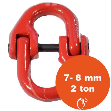 vendita online MAGLIA DI GIUNZIONE G80 - 2 ton catena 7-8 mm