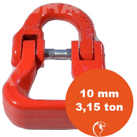 vendita online SAGOLA PER BRACHE IN POLIESTERE G80 10 mm 3,5 ton